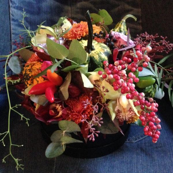 Tűzött virágdíszek